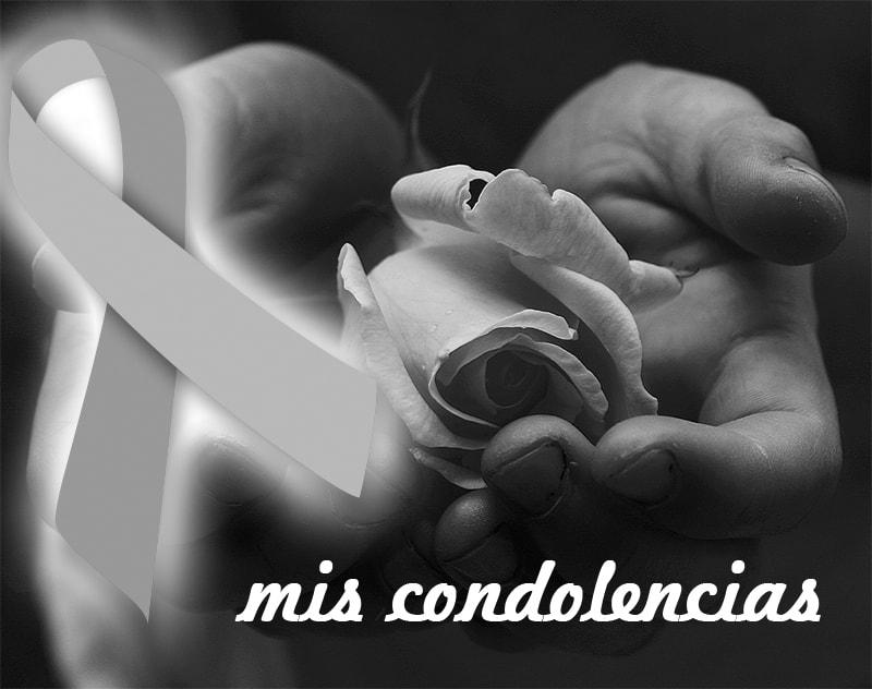 imágenes de moños de luto y condolencias