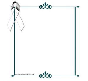 marcos para decorar fotos de luto