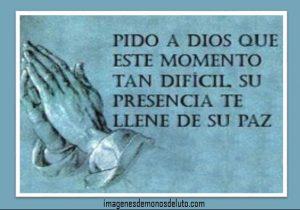 tarjetas de luto cristianas