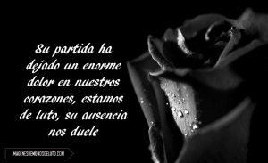 imágenes de rosas negras para luto