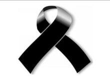 Moños de luto blanco y negro
